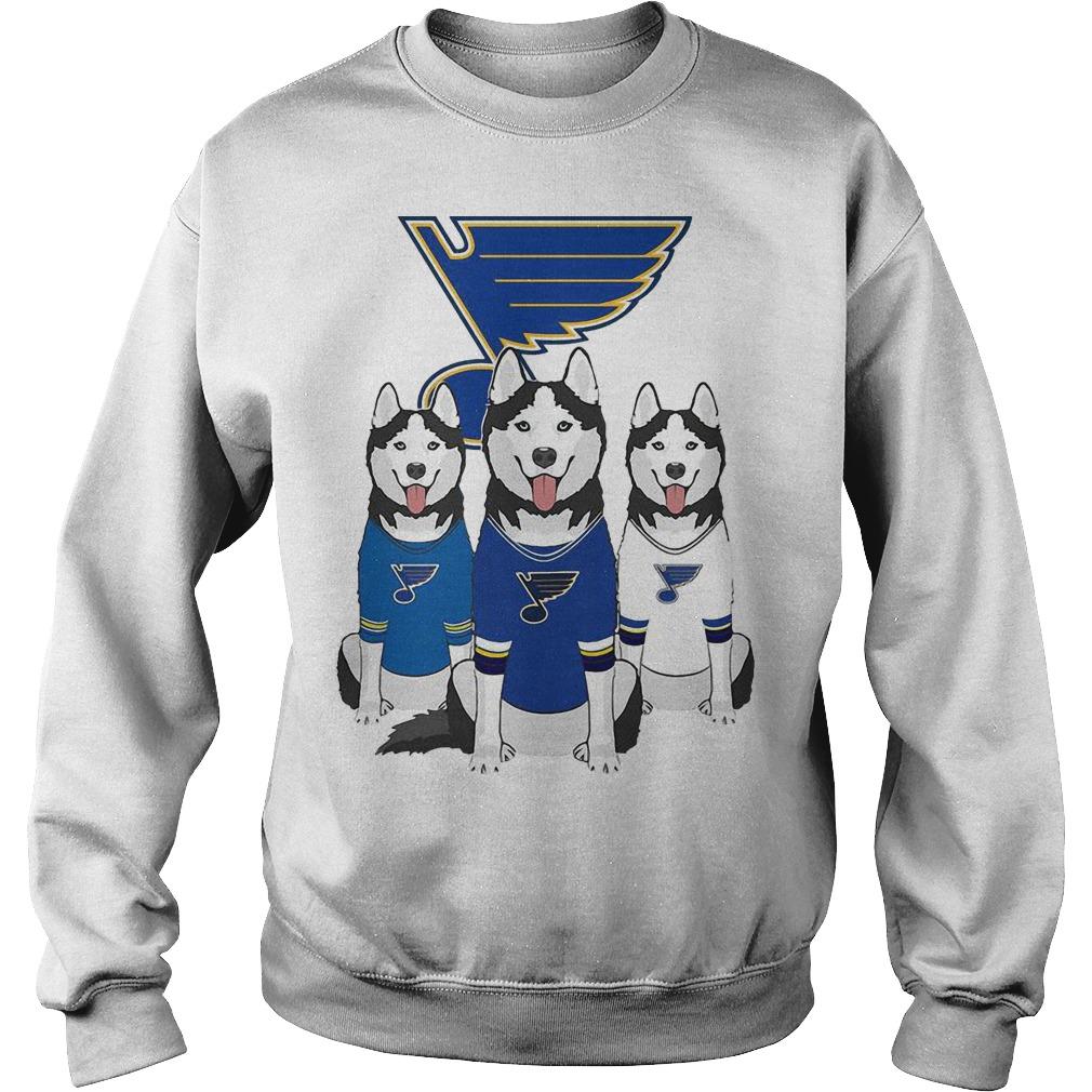 Husky St Louis Blues Sweater