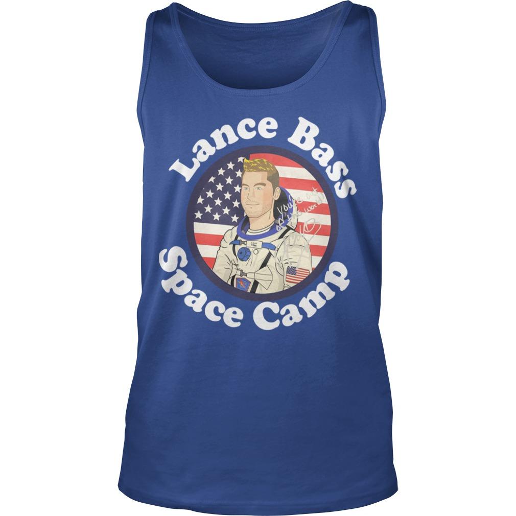 Lance Bass Space Camp Tank Top