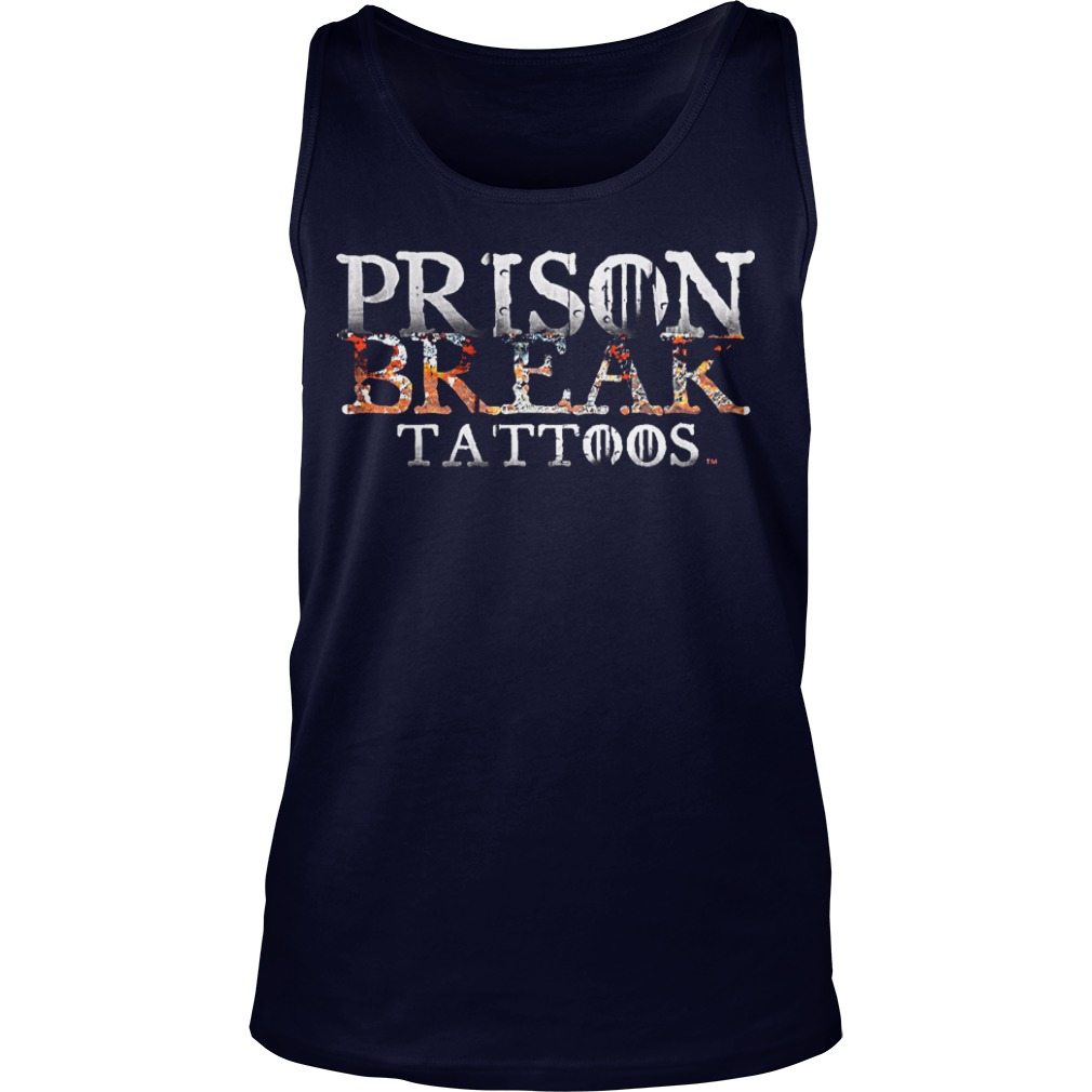 Prison Break Tattoos Tank Top