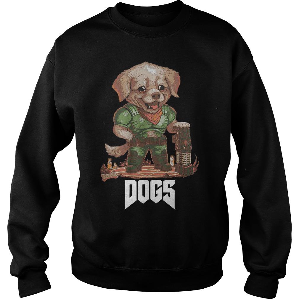 Quakecon Doom Dogs Sweater