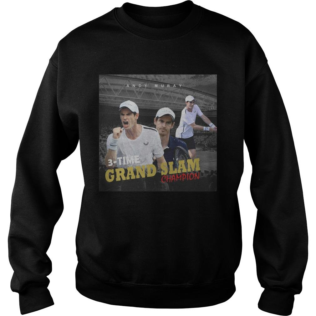 Andy Murray 3 Time Grand Slam Champion Sweater