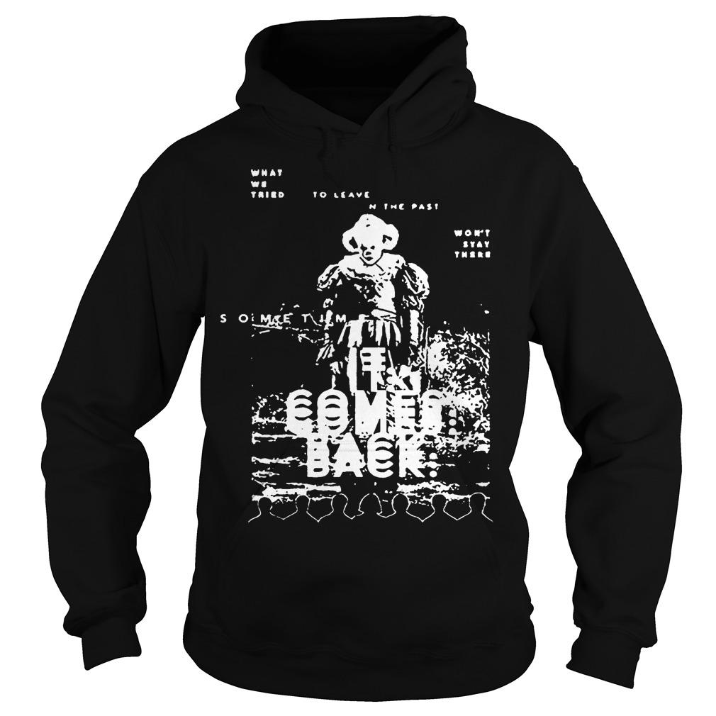 Black And White Pennywise It Comes Back Hoodie