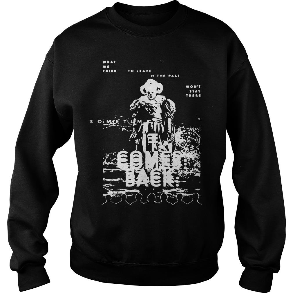Black And White Pennywise It Comes Back Sweater