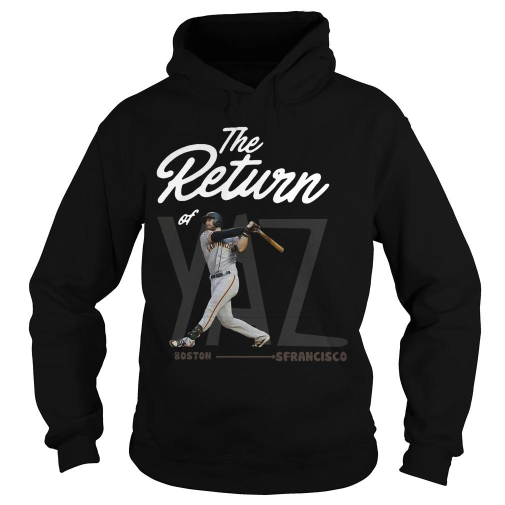 Boston San Francisco The Return Of Yaz Hoodie