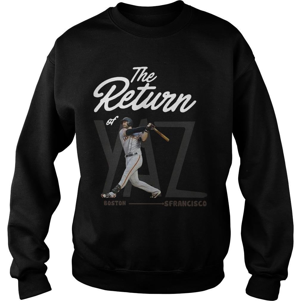 Boston San Francisco The Return Of Yaz Sweater