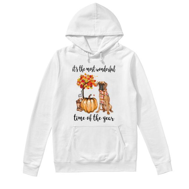 Boxer It's The Most Wonderful Time Of The Year Hoodie