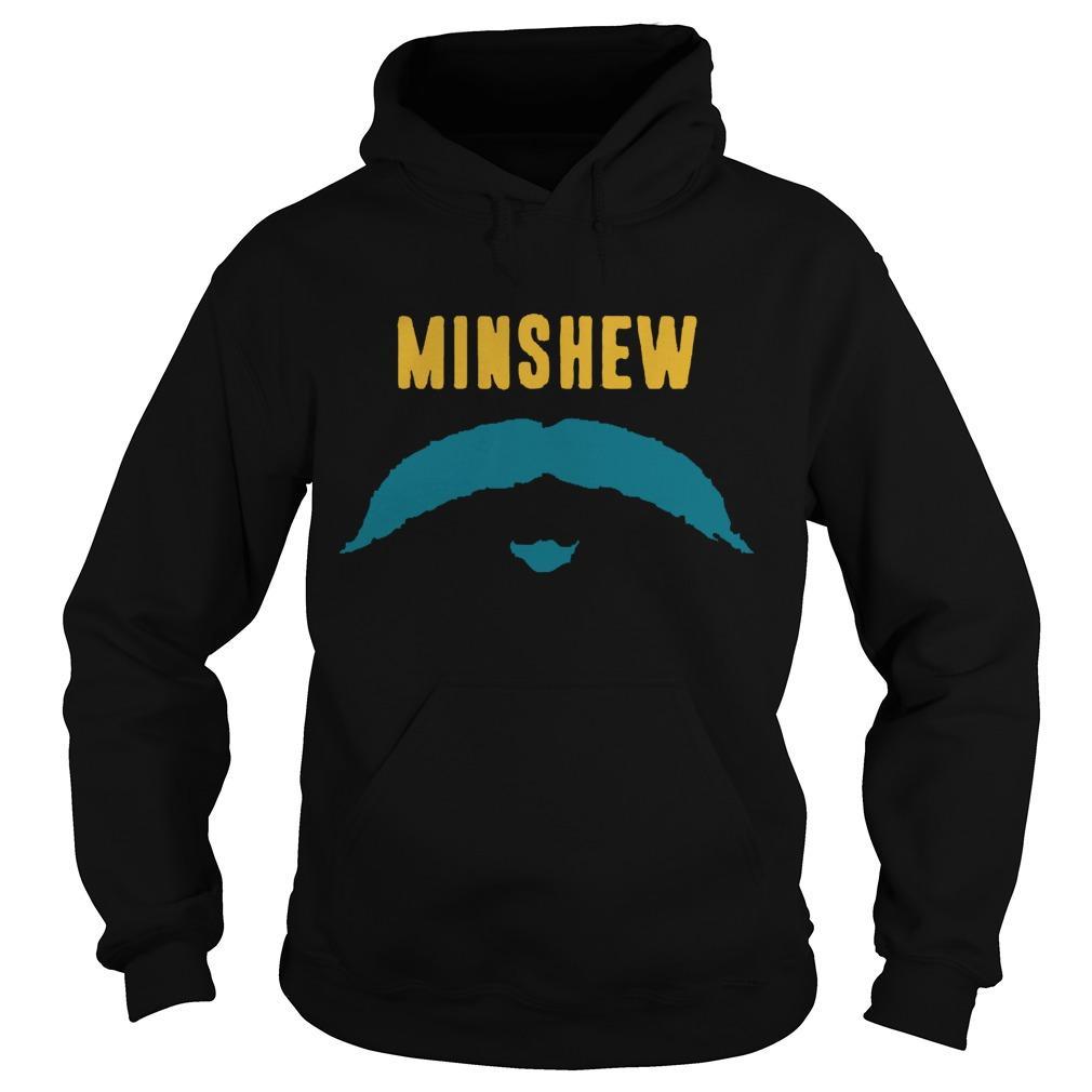 Football Jacksonville Fu Manchu Mustache Fan Minshew Hoodie