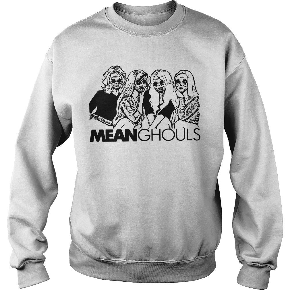Halloween Horror Characters Mean Ghouls Sweater