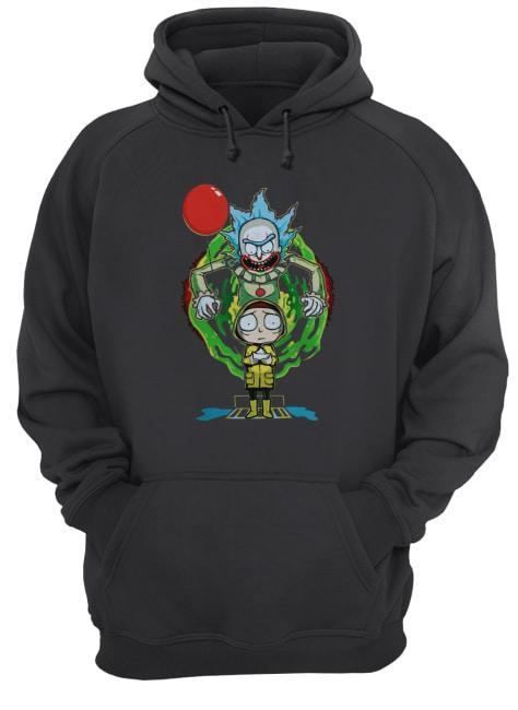 Halloween Pennywise Rick And Morty Hoodie