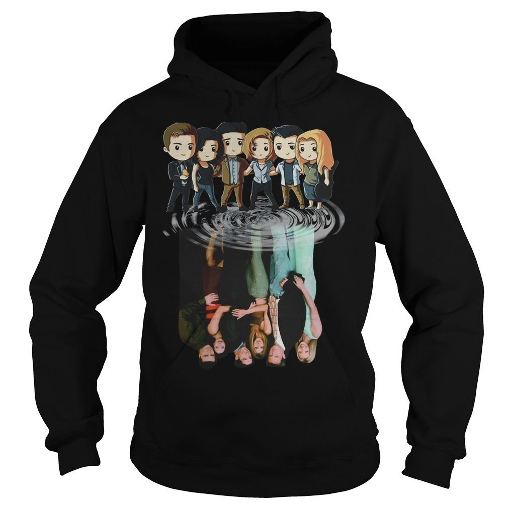 Harry Potter Friends Shadow Water Reflection Hoodie