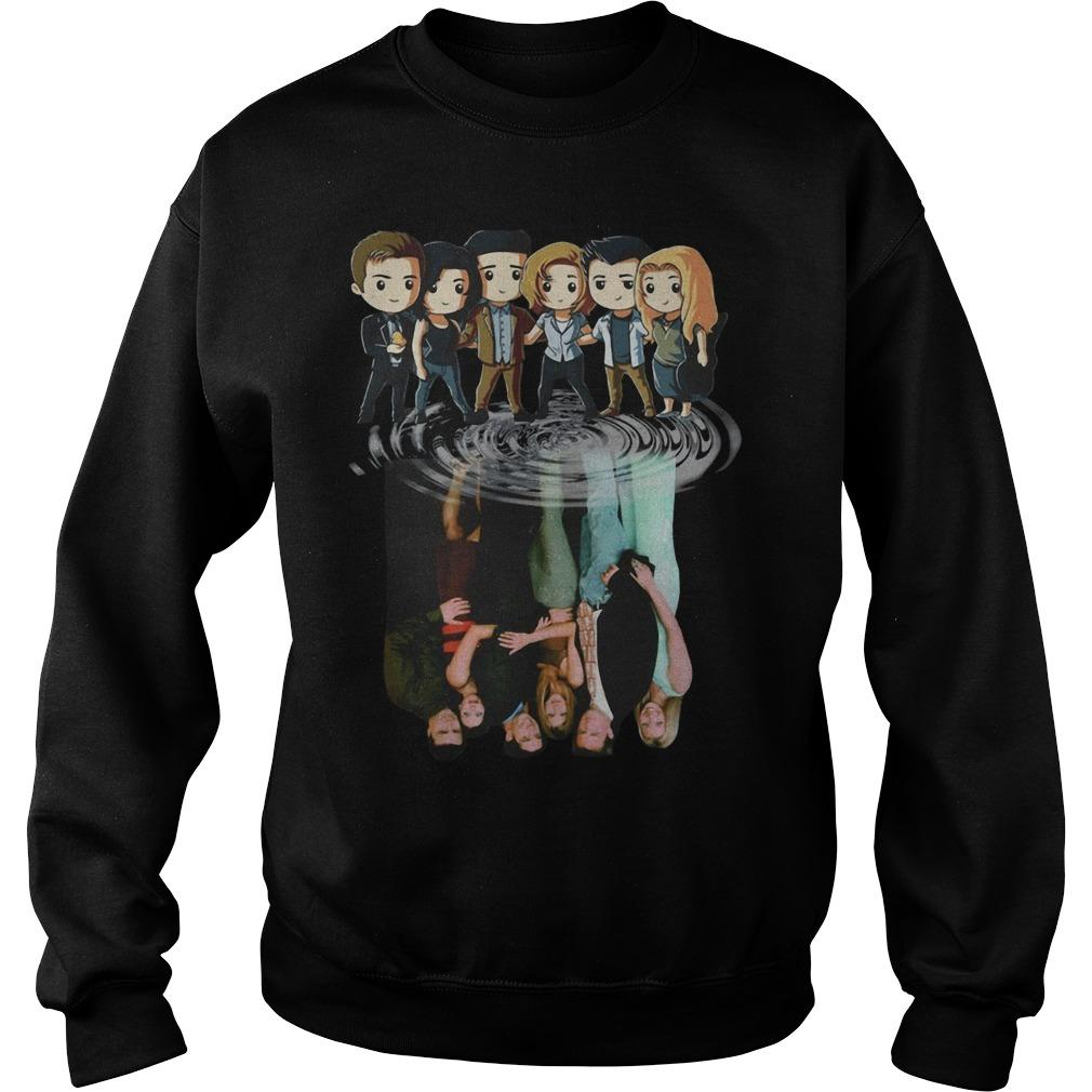 Harry Potter Friends Shadow Water Reflection Sweater