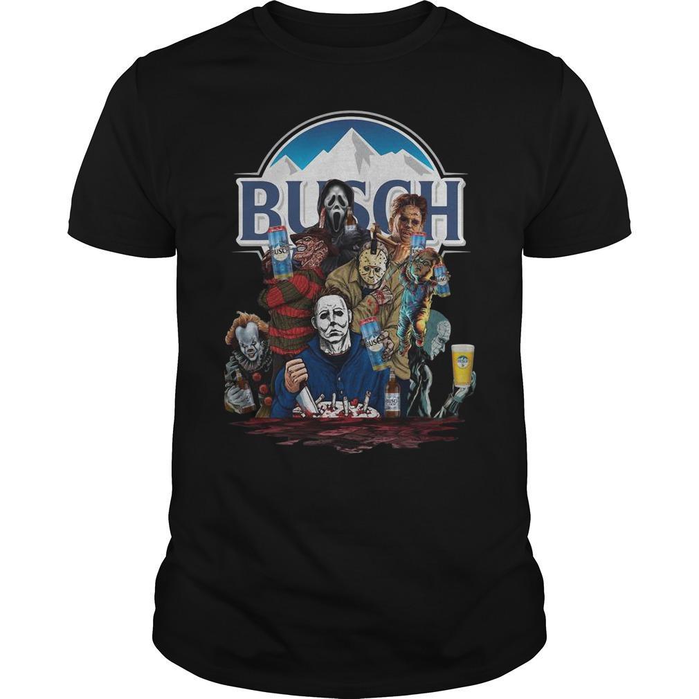 Horror Characters Busch Shirt