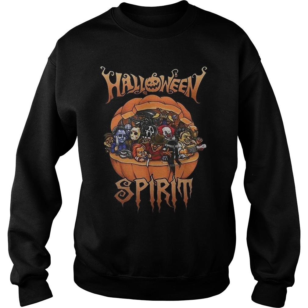 Horror Characters Halloween Spirit Sweater
