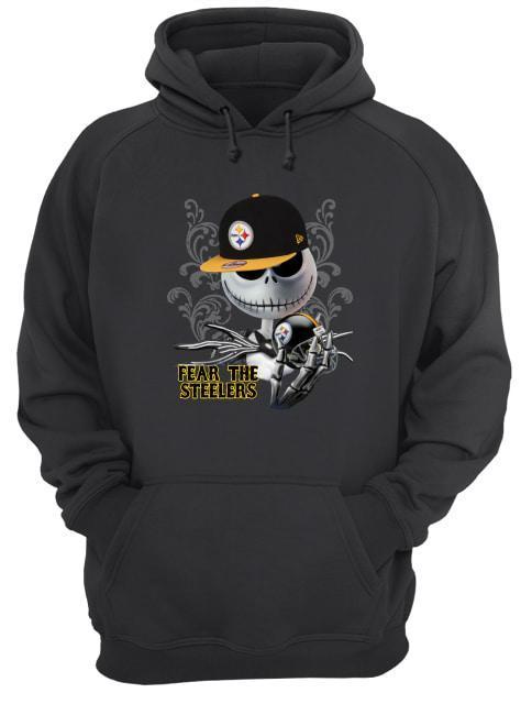 Jack Skellington Fear The Pittsburgh Steelers Hoodie
