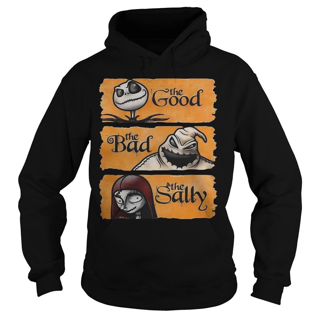 Jack Skellington The Good Oogie Boogie The Bad The Sally Hoodie