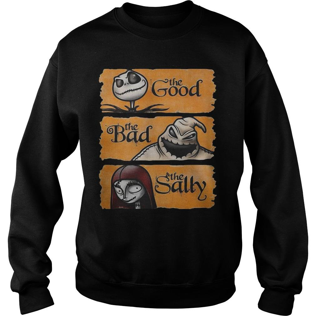 Jack Skellington The Good Oogie Boogie The Bad The Sally Sweater