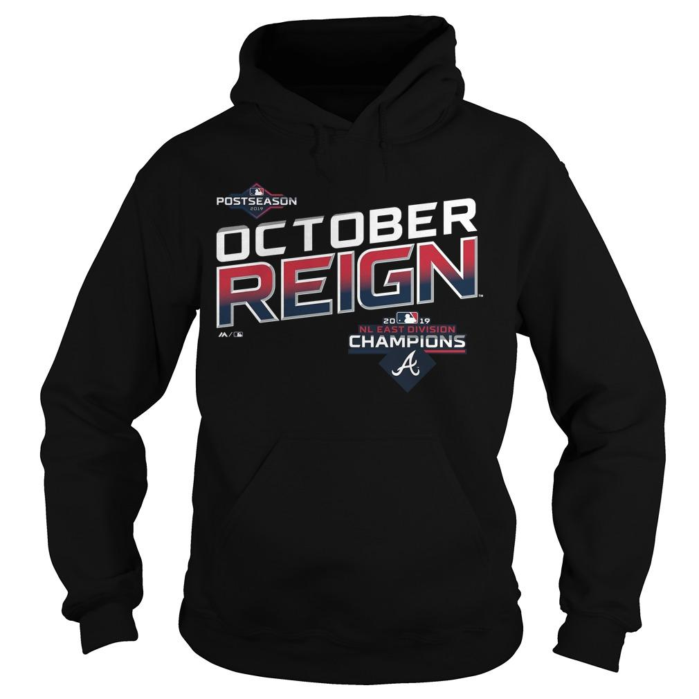 October Reign Braves Hoodie