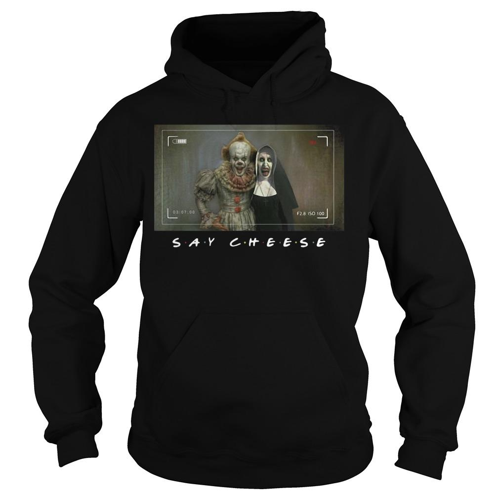 Pennywise Valak Photo Say Cheese Hoodie