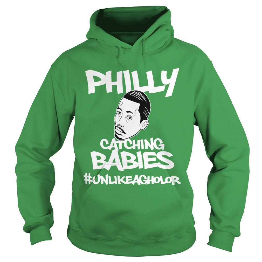 Philly Catching Babies Hoodie