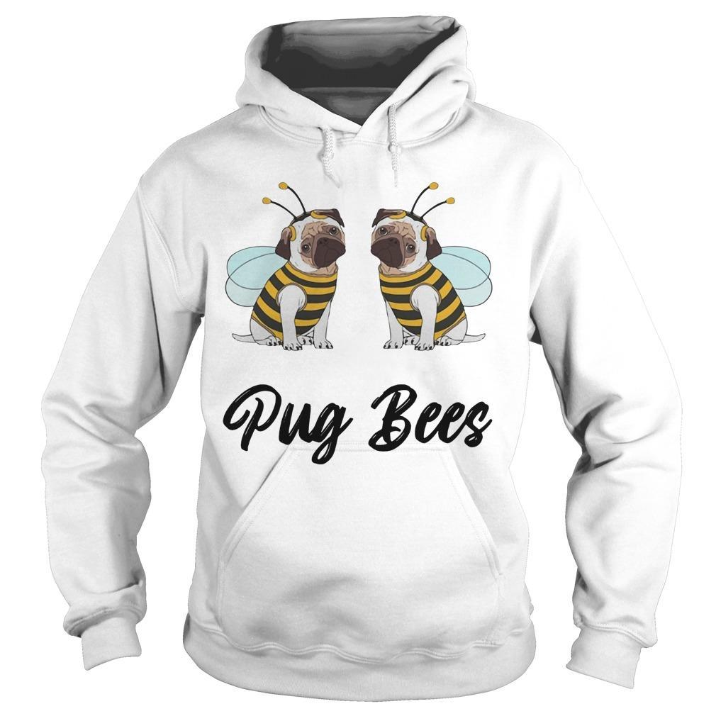 Pug Bees Hoodie