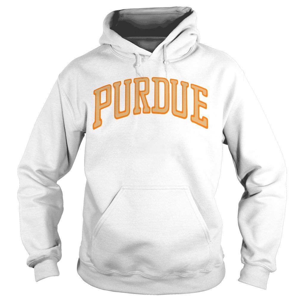 Purdue University Stranger Things Purdue Hoodie
