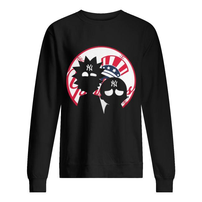 Rick And Morty New York Yankees Sweater