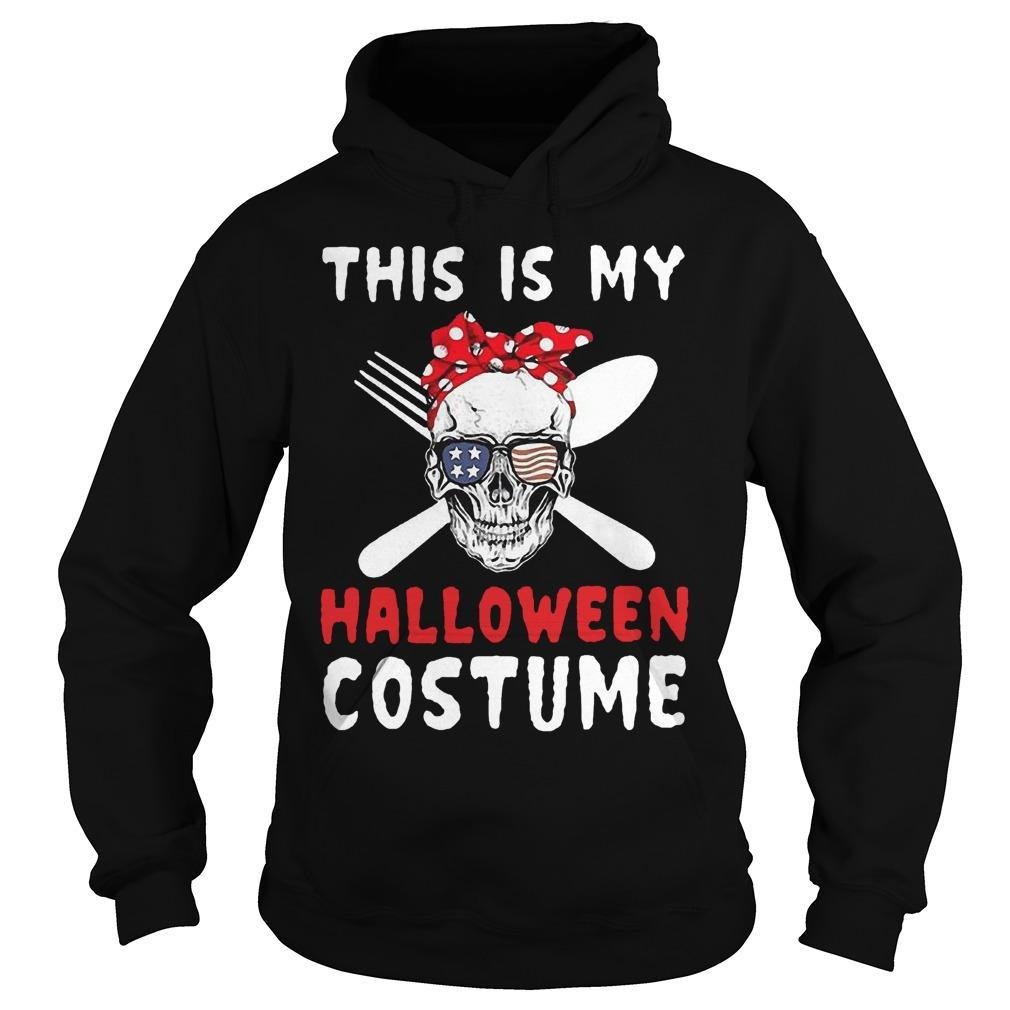 Skull This Is My Halloween Costume Hoodie