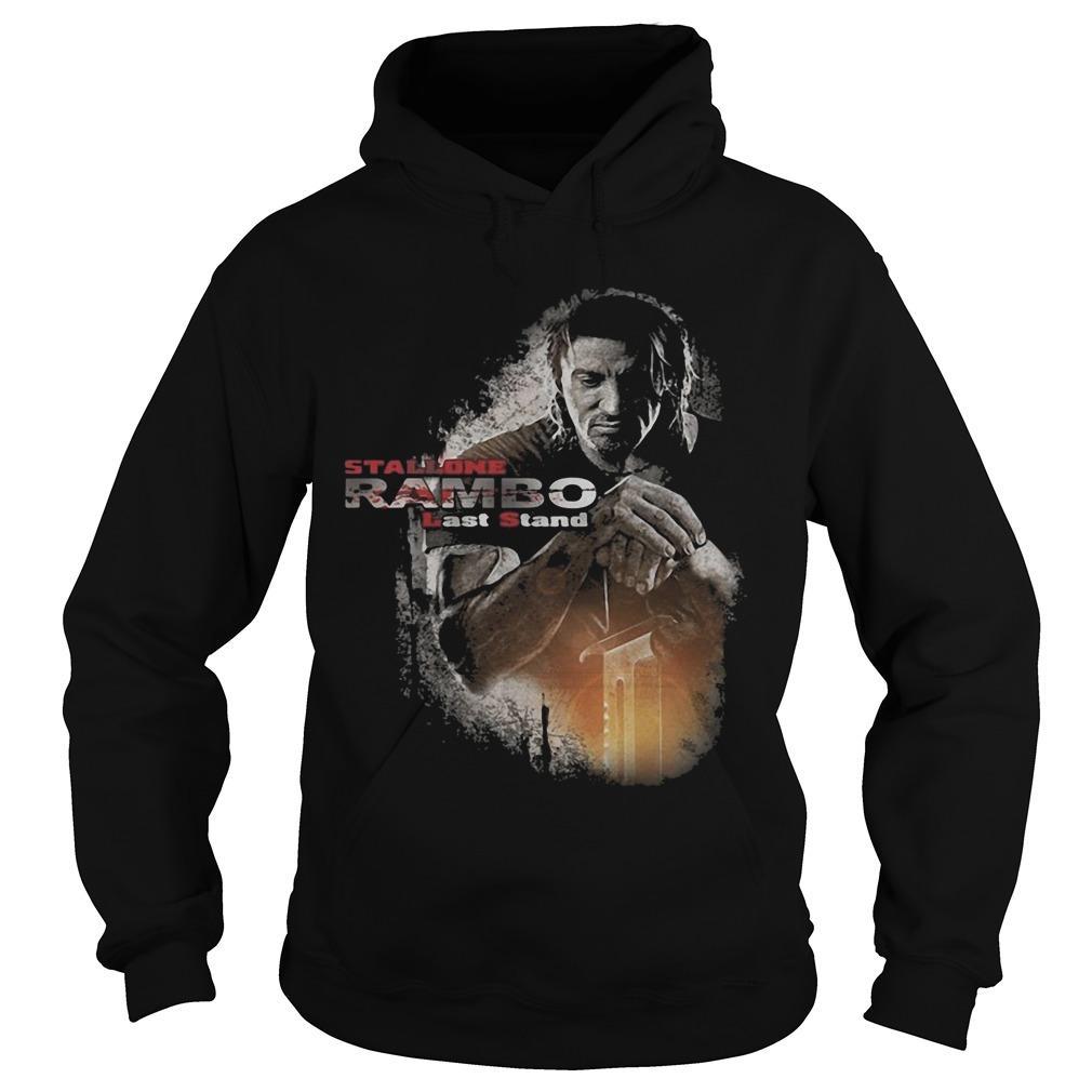 Stallone Rambo Last Stand Hoodie