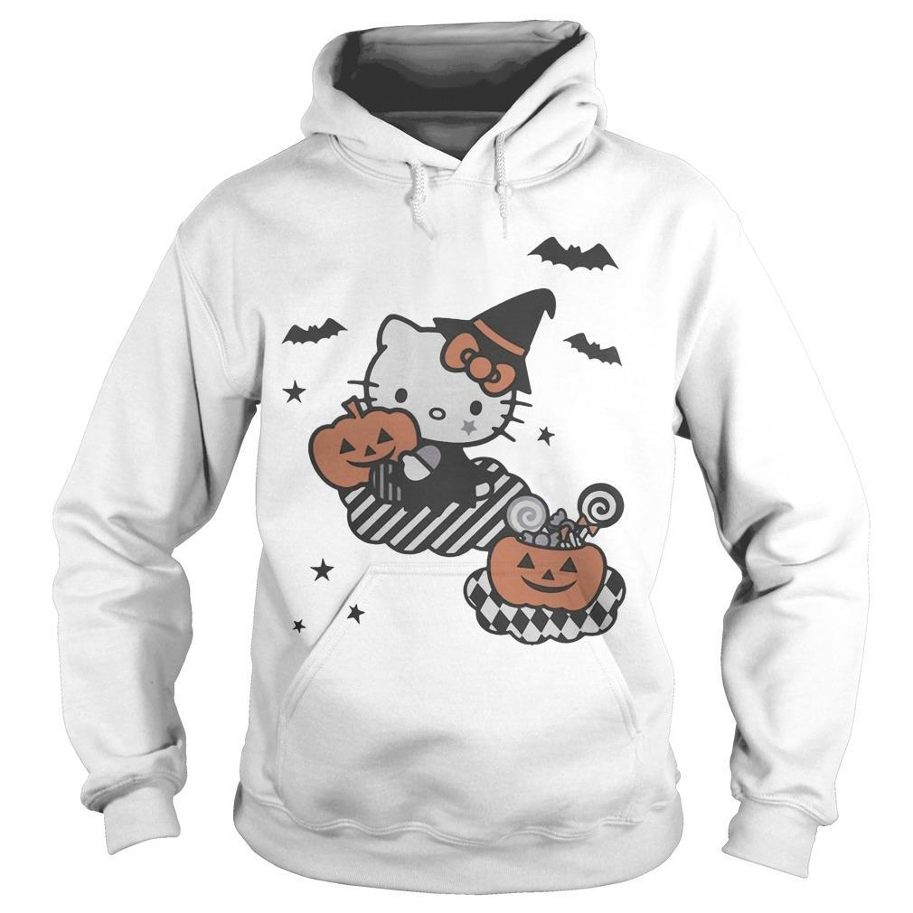 Trick Or Treat Hello Kitty Hoodie