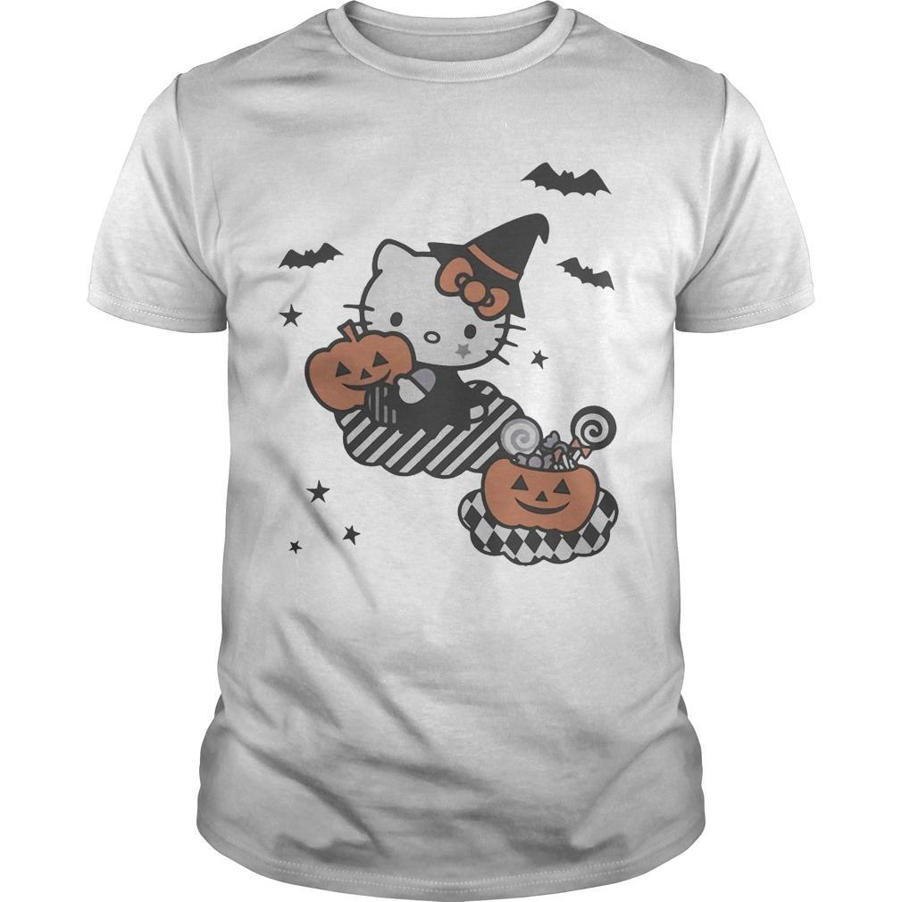 Trick Or Treat Hello Kitty Shirt