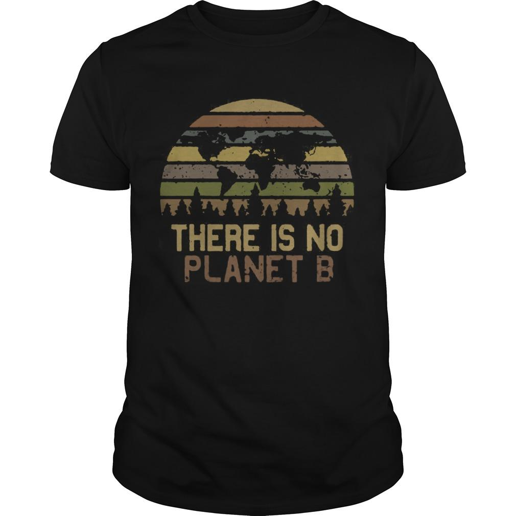 Vintage Earth Day There Is No Planet B Shirt
