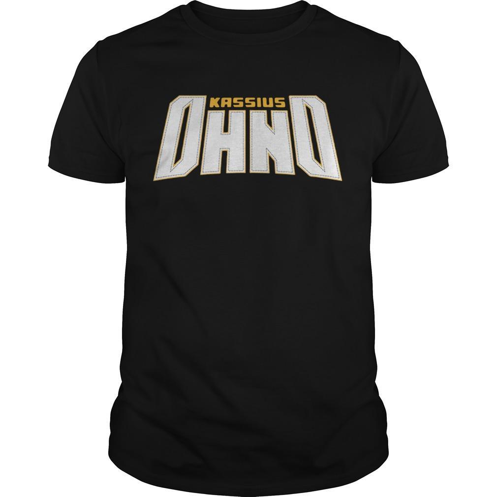 WWE Kassius Ohno Shirt