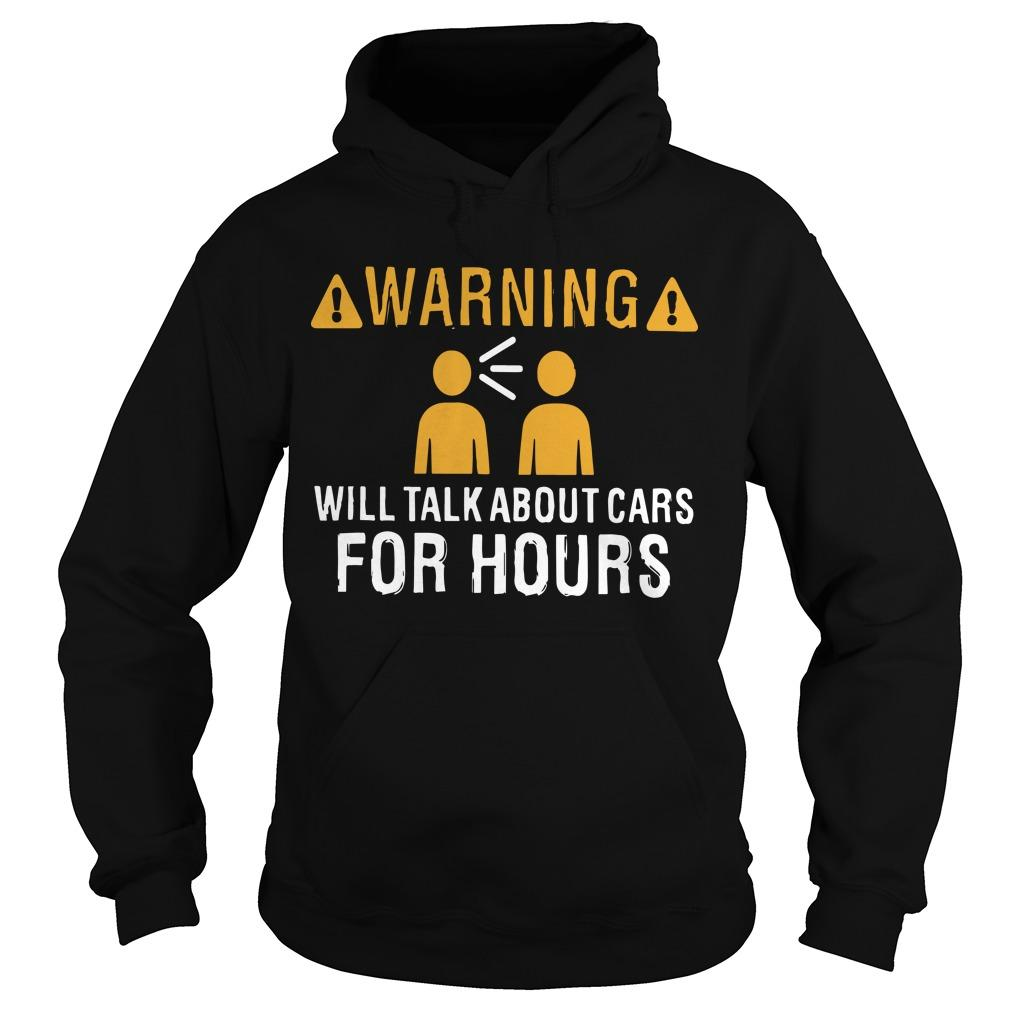 Warning Will Talk About Carbs For Hours Hoodie