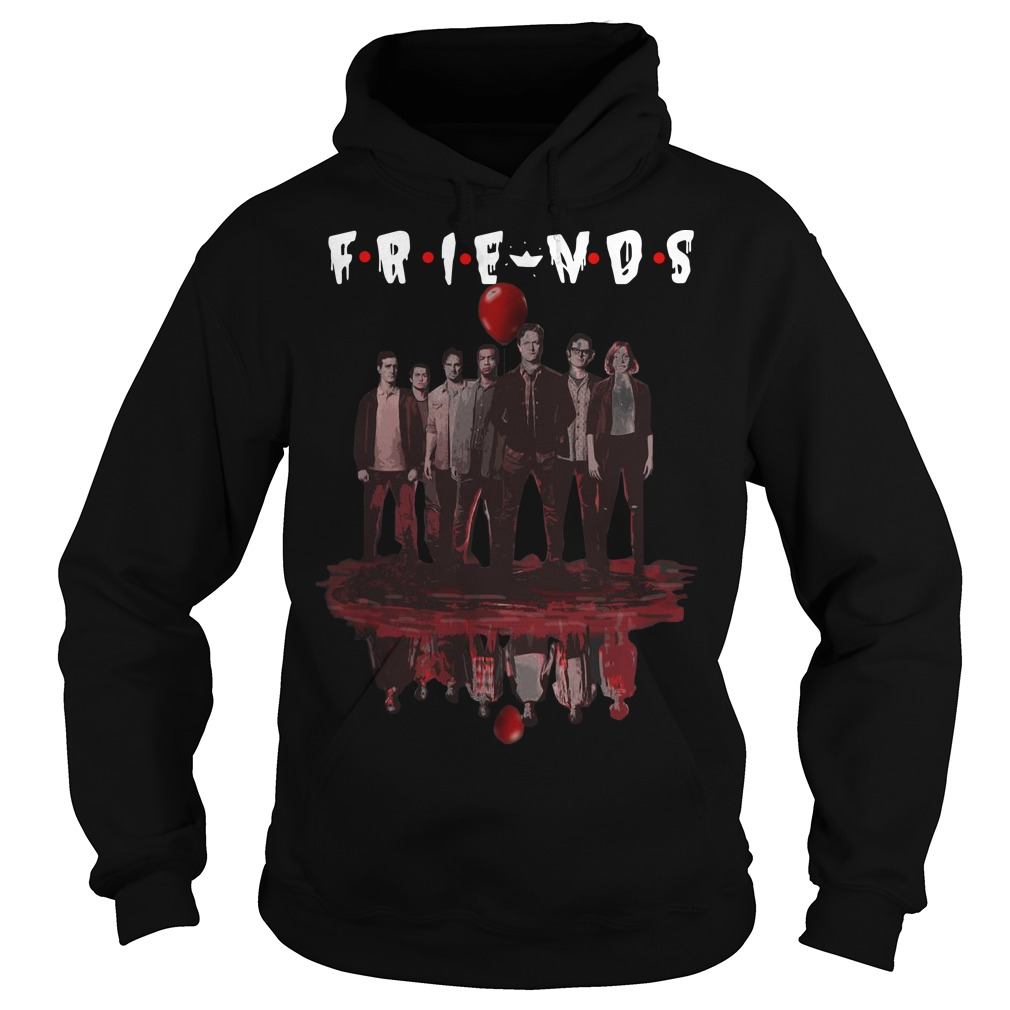 Water Reflection It Chapter Two Characters Friends Hoodie
