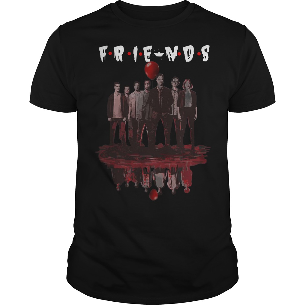 Water Reflection It Chapter Two Characters Friends Shirt