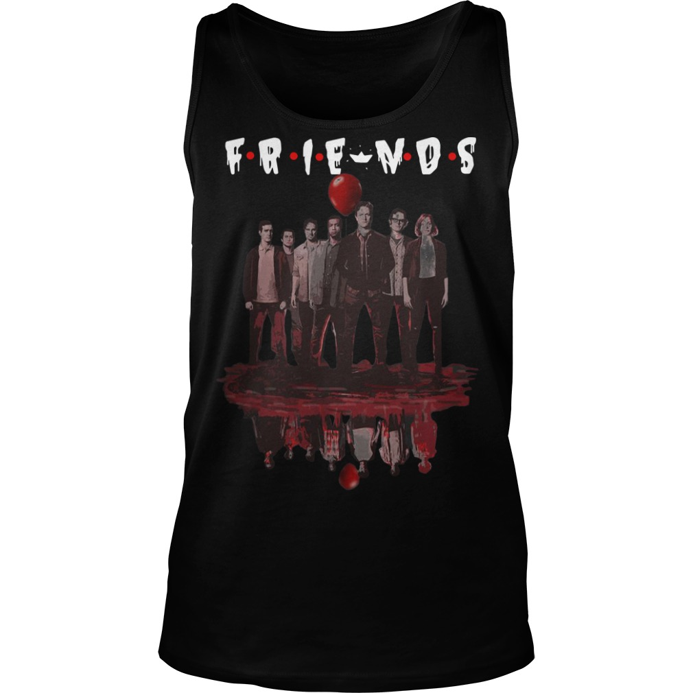 Water Reflection It Chapter Two Characters Friends Tank Top
