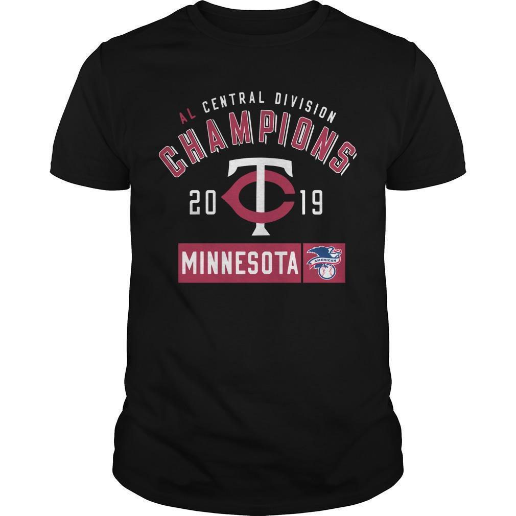 Al Central Division Champions 2019 Minnesota Twins Shirt
