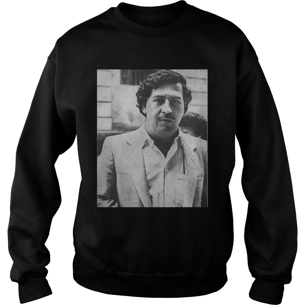 Black And White Desi Banks Pablo Escobar Sweater
