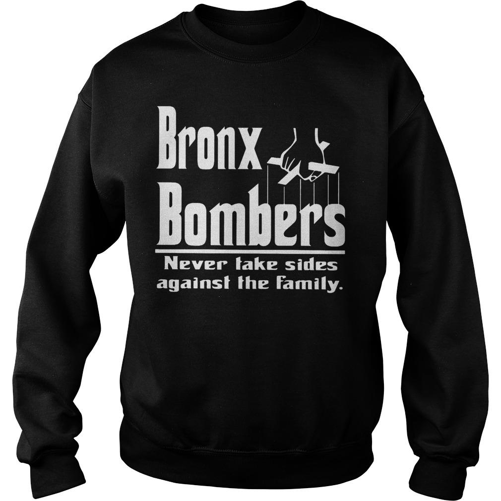 Bronx Bombers Never Take Side Against The Family Sweater