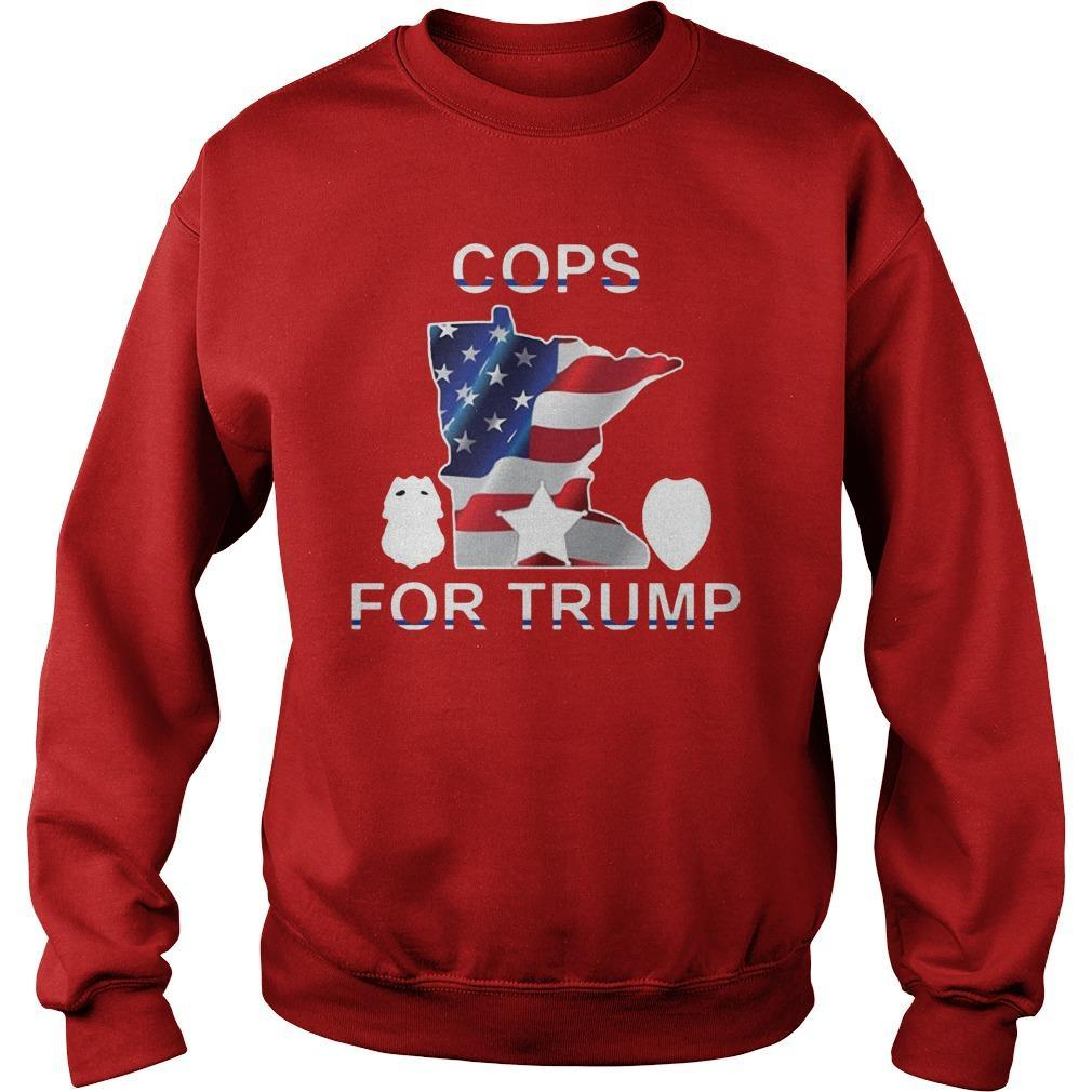 Cops For Trump Tee Sweater