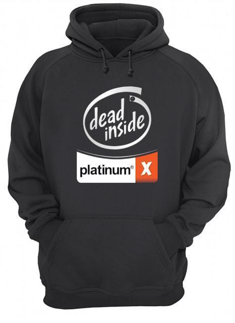 Dead Inside Platinum Hoodie