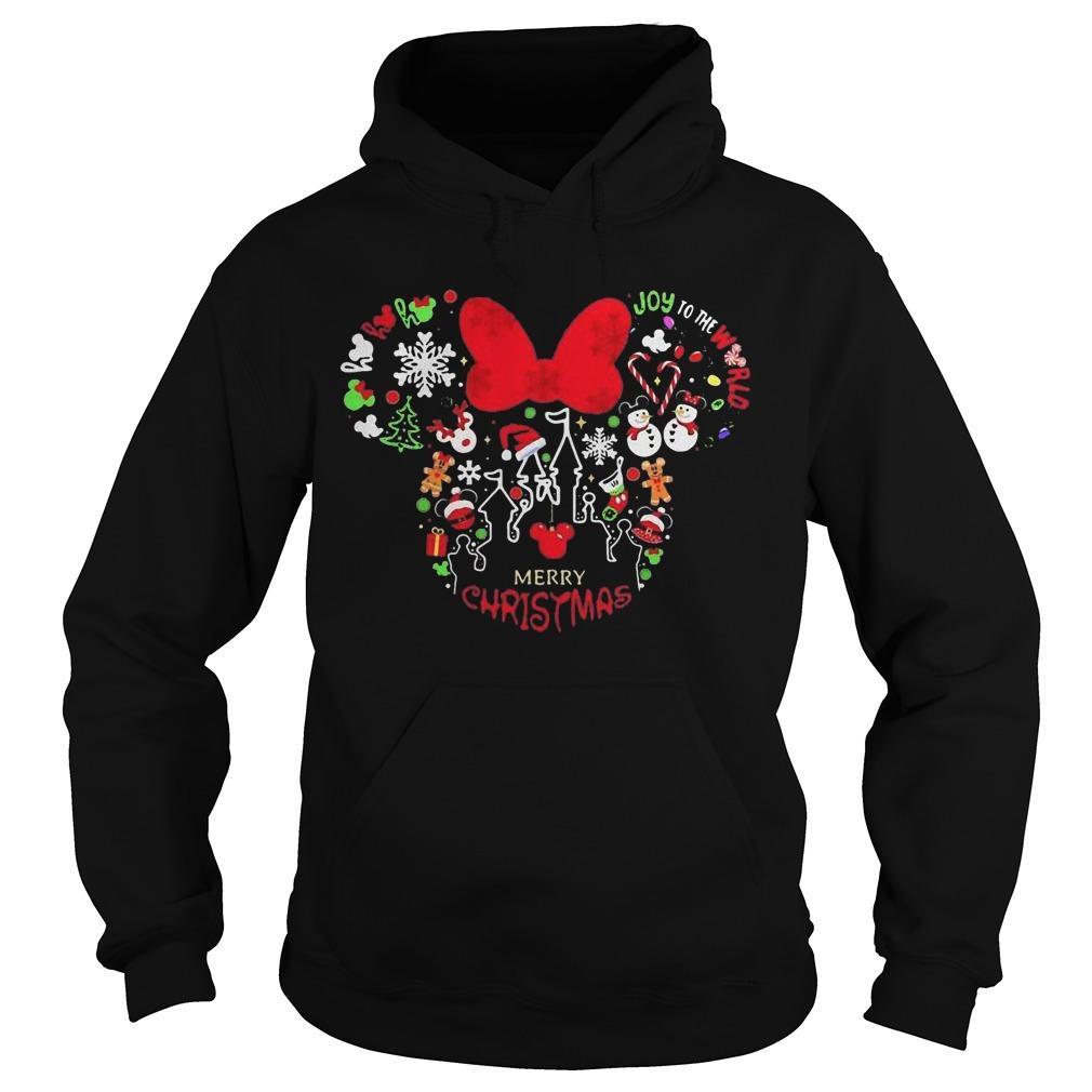 Disney Minnie Merry Christmas Hoodie
