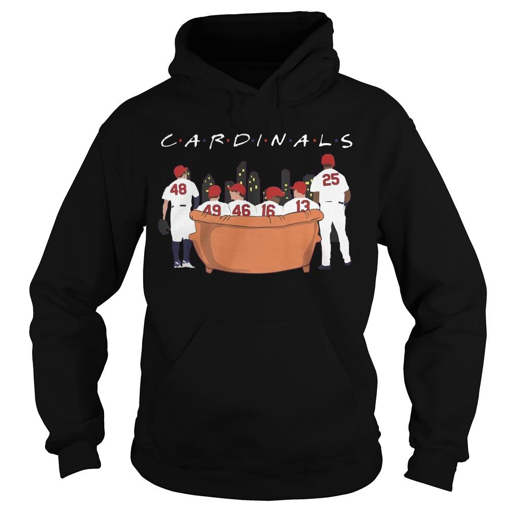 Friends Tv Show Arizona Cardinals Hoodie