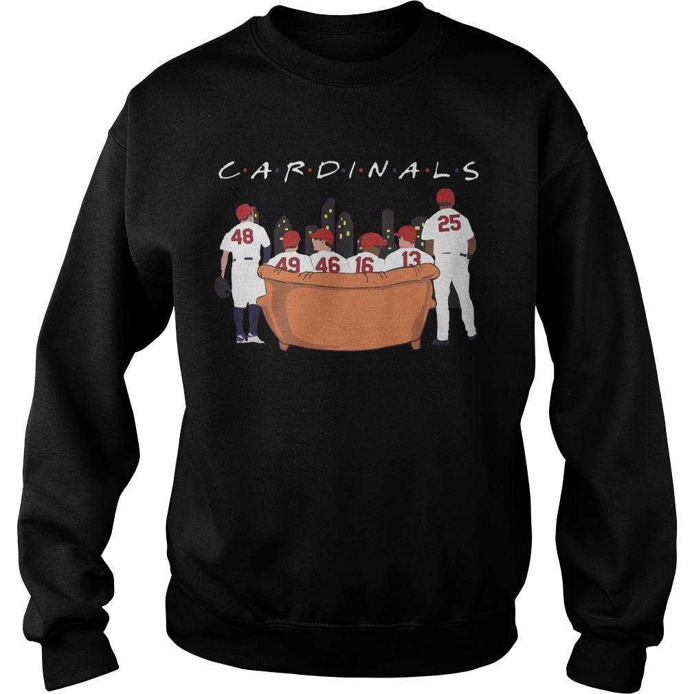 Friends Tv Show Arizona Cardinals Sweater