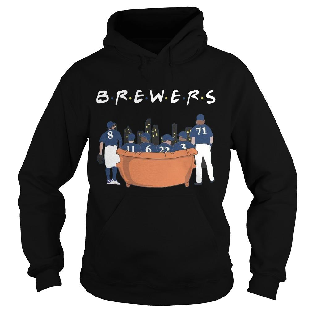 Friends Tv Show Milwaukee Brewers Hoodie