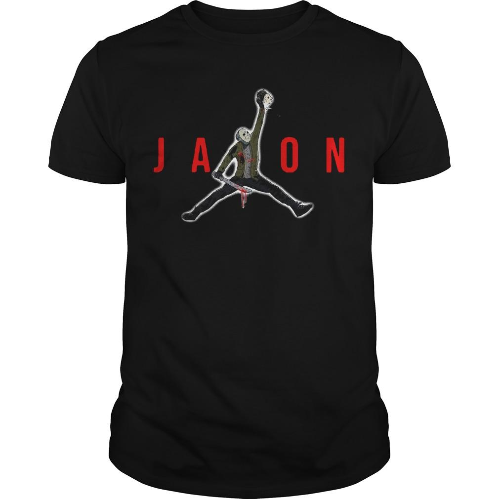 Halloween Air Jordan Jason Voorhees Shirt