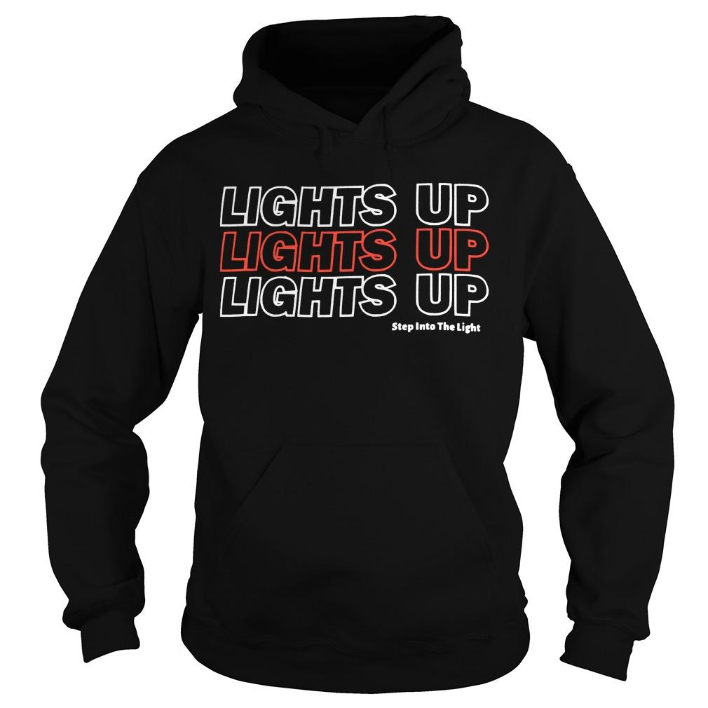 Harry Styles Lights Up Lights Up Lights Up Step Into The Light Hoodie