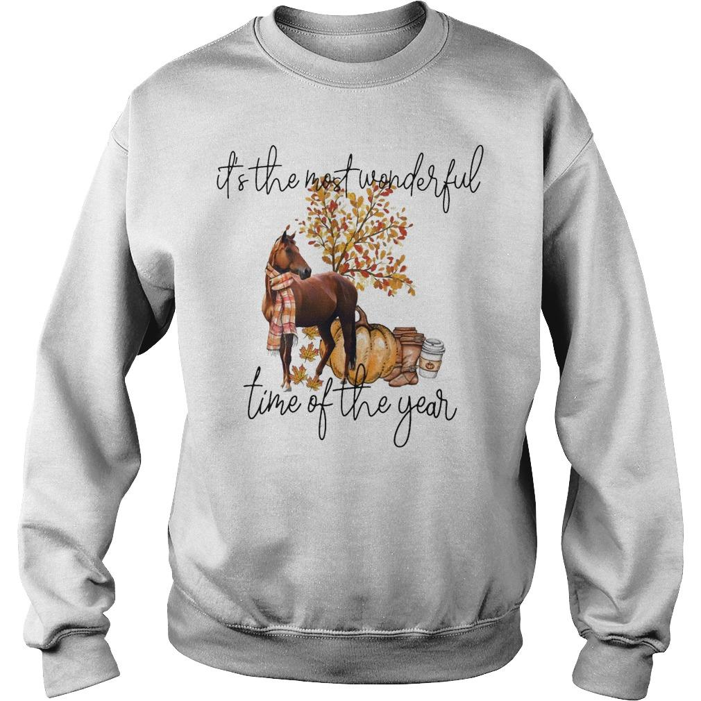Horse It's The Most Beautiful Time Of The Year Sweater