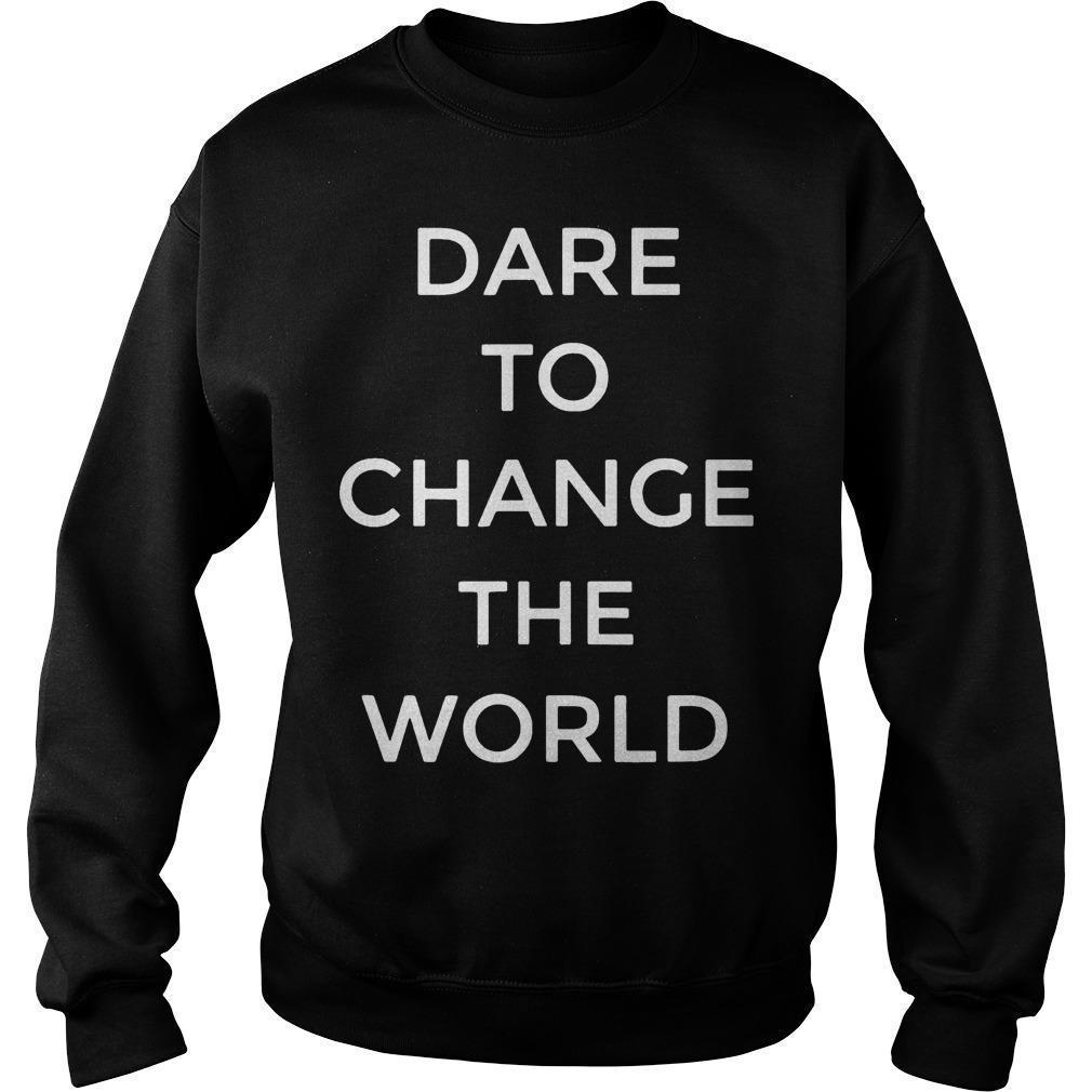 Hugh Jackman Dare To Change The World Sweater