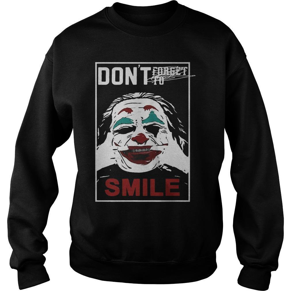Joker Don't Forget To Smile Sweater